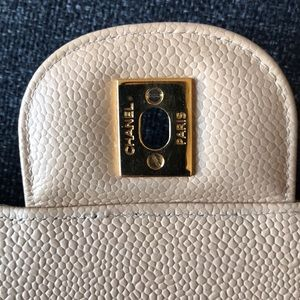 CHANEL Bags - CHANEL Jumbo Caviar Tan Boy Bag